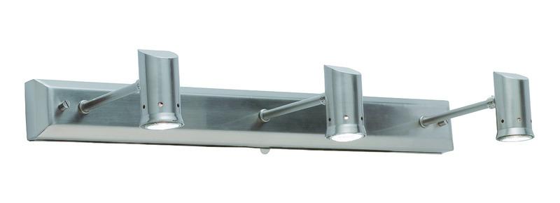 Markslöjd Spiegelleuchte Madrid Wall 3, Metallisch, Metall, 112641 | Lampen > Badlampen | Metallisch | Metall