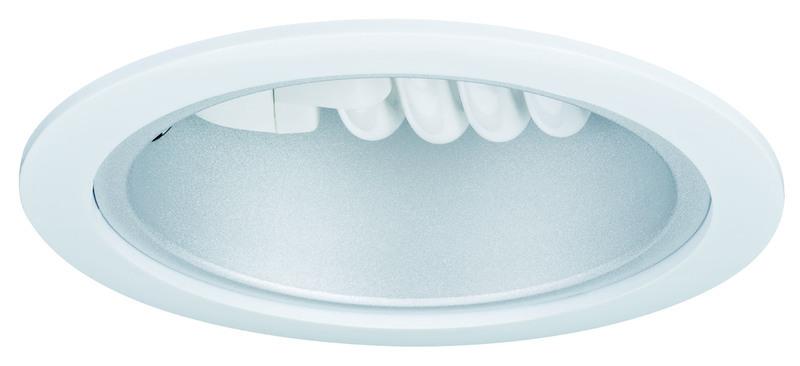 Paulmann Einbaudownlight E27 Max 15W, Weiß, Metall, 92012