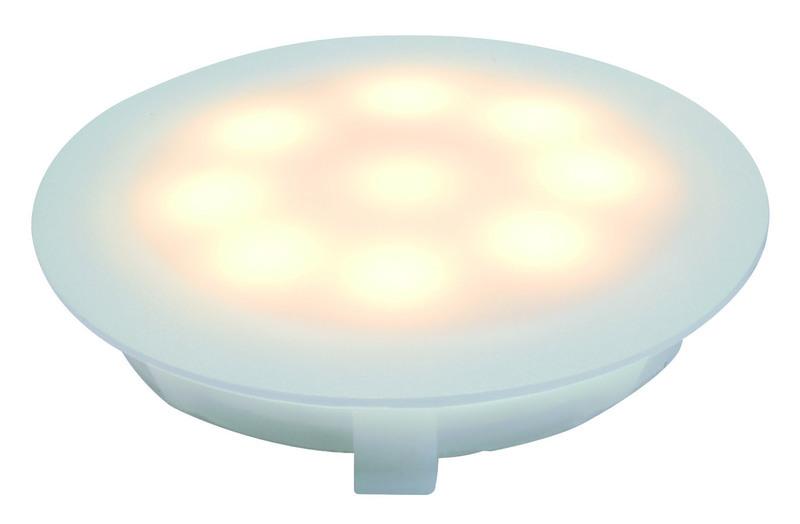 Paulmann LED Bodeneinbauleuchte Special Line UpDownlight, Weiß, Kunststoff, 93700