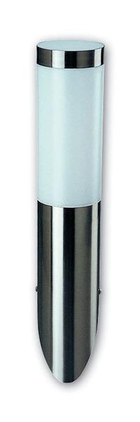 Heitronic Wandfackel Larisa, Metallisch,weiß, Edelstahl/Kunststoff, 36385