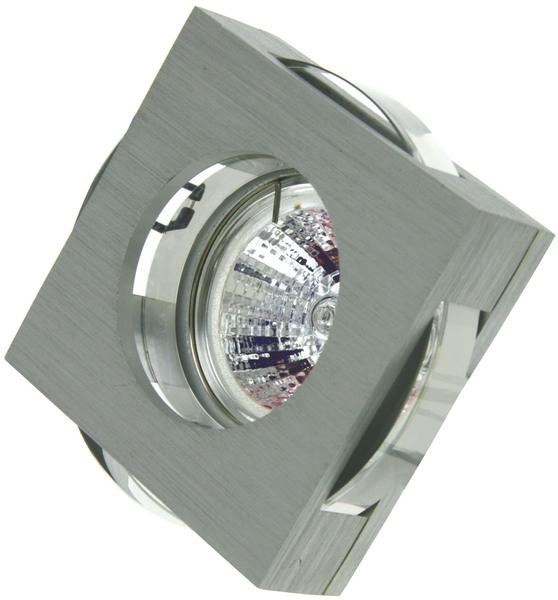 Heitronic Deckenleuchte Emelie, Transparent, Aluminium/Kunststoff, 23990