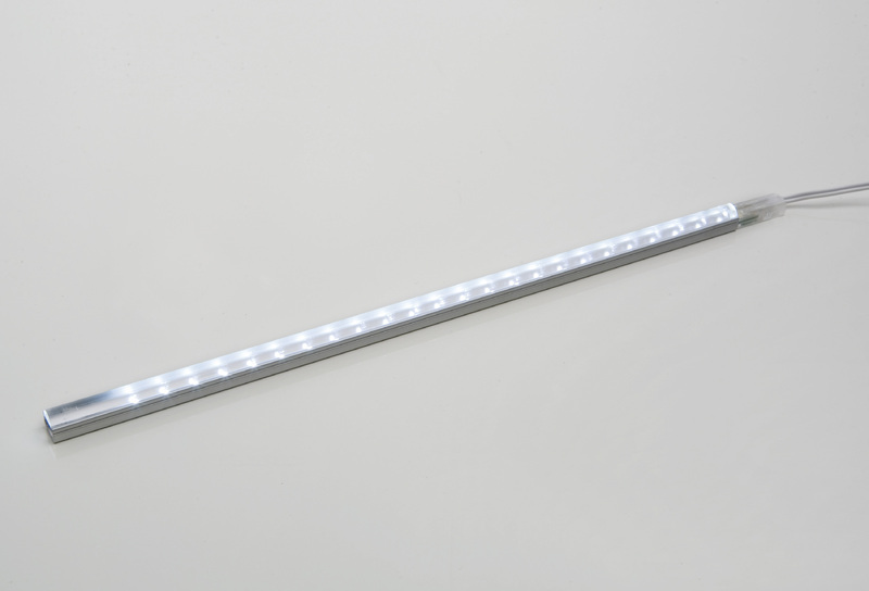 Heitronic LED Lichtleiste Power Strip LED 24, Metallisch, Aluminium, 38314