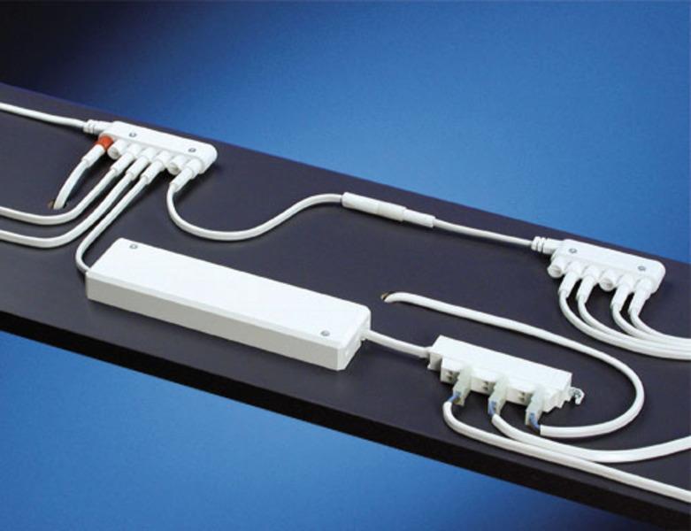 Heitronic Kabel Olandia Verlängerungsleitung 100 Cm, Weiß, 28618