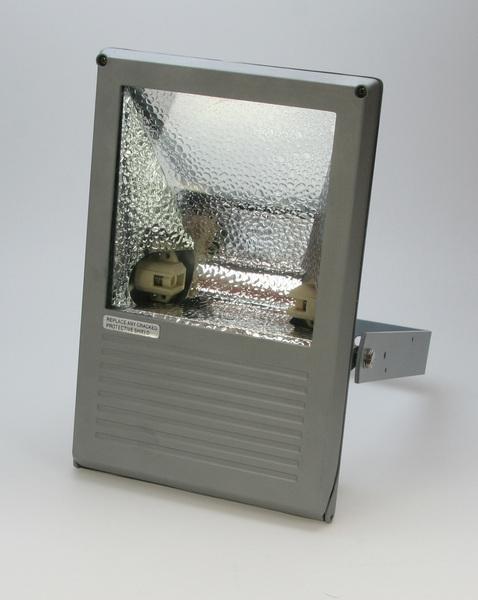 Heitronic Außenwandstrahler Sawandu 1, Transparent,metallisch, Aluminium/Glas, 36755