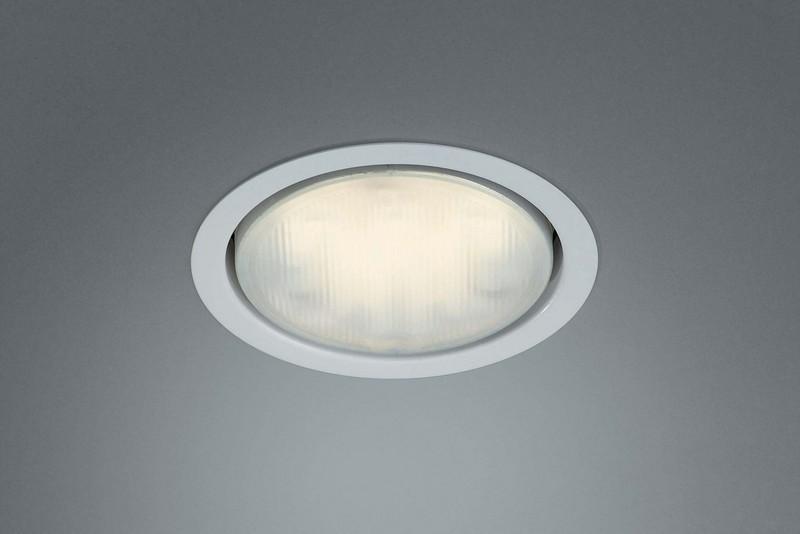 Massive Einbaudownlight Musa, Weiß, Metall/Kunststoff, 595103110