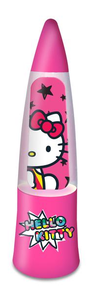 Spearmark LED Kinderleuchte Hello Kitty Uni Glitzer LED, Pink, Kunststoff, 65138BOX