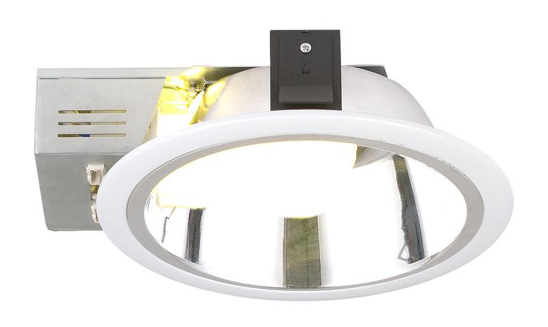 EGLO Einbaudownlight XARA 3, Weiß, Metall, 89096