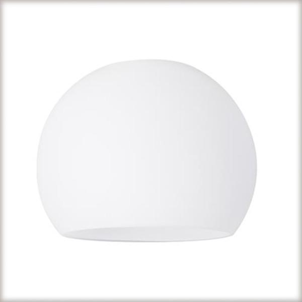 Paulmann Lampenschirm DecoSystems Wolbi Opal, Weiß, Glas, 60055 | Lampen > Lampenschirme und Füsse > Lampenschirme | Weiß | Glas
