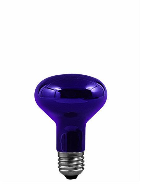 Paulmann R80 E27 75W, Blau,violett, 591.70