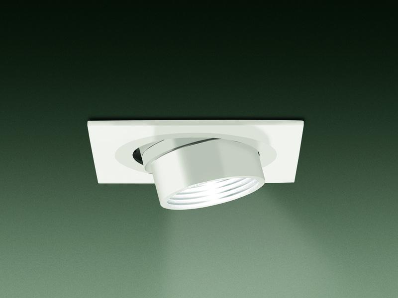 Leucos Einbaudownlight SD 904, Weiß, Aluminium, 0301330360007