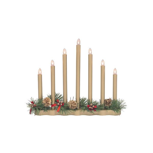 Markslöjd Kerzenleuchter Hol 7-Lag Ljusstake, Gold, Holz/Kunststoff, 8308.910 | Dekoration > Kerzen und Kerzenständer > Kerzenleuchter | Gold