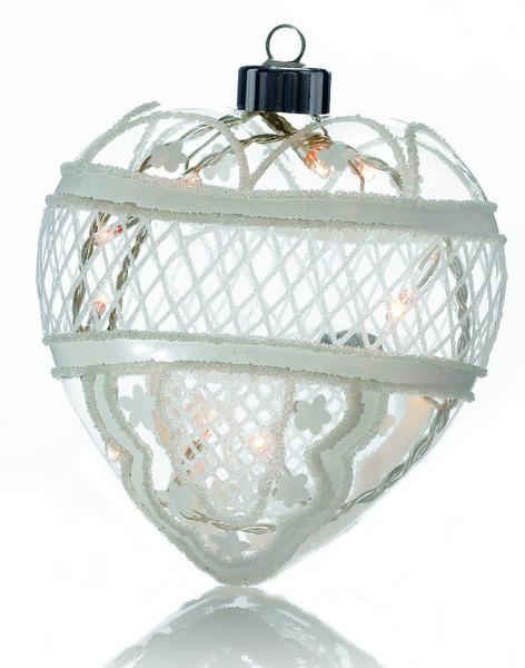 Markslöjd Pendelleuchte Moheda Glashjärta 12 Vit, Weiß, 700596