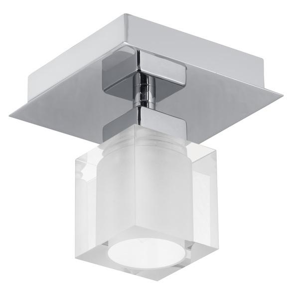 EGLO Halogenstrahler Bantry, Chrom,weiß, Glas/Metall, 90117