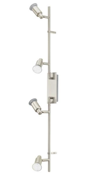 EGLO LED Strahlerbalken Eridan, Metallisch, Metall/Stahl, 90826
