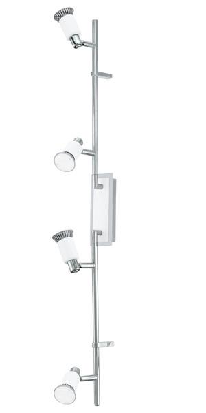 EGLO LED Strahlerbalken Eridan, Weiß, Metall/Stahl, 90835