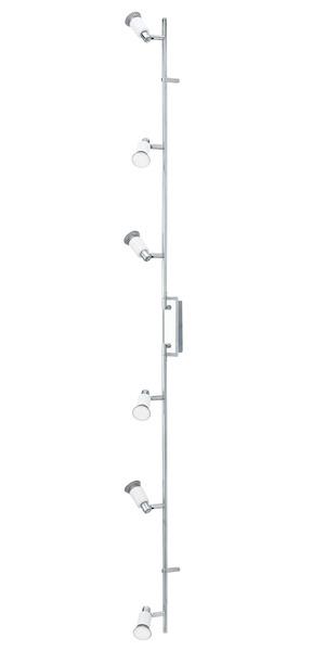 EGLO LED Strahlerbalken Eridan, Weiß, Metall/Stahl, 90836