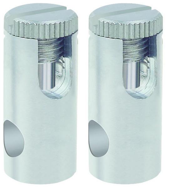 Paulmann Seilsystem Spice Stromeinspeisung 1 Paar Max300W Chrom Mat, Metallisch, Metall, 972.83 | Lampen > Strahler und Systeme > Seilsysteme | Chrom - Metallisch | Metall