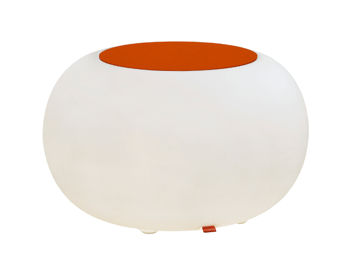 moree Lounge Tisch Bubble Indoor Mit Orangenem ...
