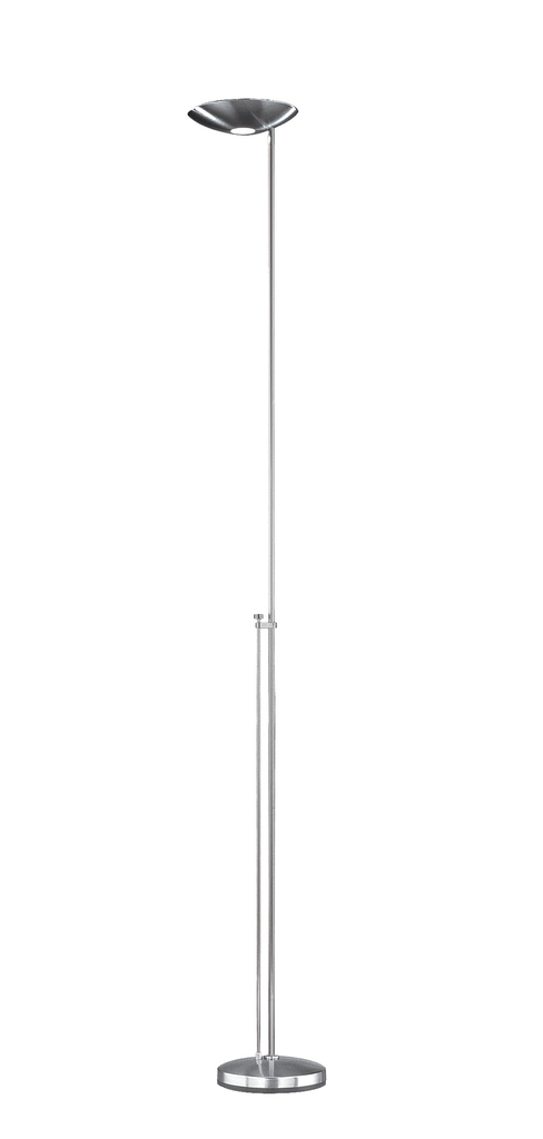 Estiluz Deckenfluter P-1129, Chrom, Metall, 011292310C | Lampen > Stehlampen > Deckenfluter | Chrom | Metall