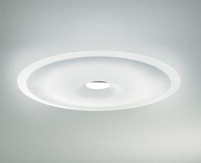 Leucos Wandleuchte Planet 65, Chrom,weiß, Glas/Metall, 0003754
