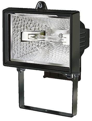 Brennenstuhl Außenstrahler H 150, Schwarz, Aluminium/Glas, 1171240 | Lampen > Aussenlampen > Aussenstrahler | Schwarz