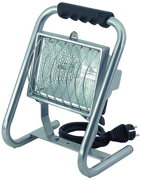 Brennenstuhl Außenstrahler H 500, Metallisch, Aluminium/Glas, 1171370