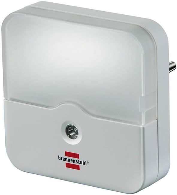 Brennenstuhl LED Nachtlicht Orientierungslicht, Weiß, Kunststoff, Bewegungsmelder, 1173220 | Lampen > Aussenlampen > Wandleuchten | Weiß | Kunststoff