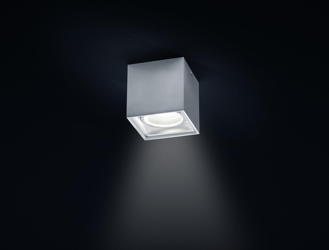 Helestra LED Downlight Siri LED, Metallisch, Aluminium, 15/1559.26